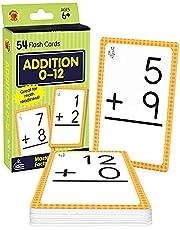 Brighter Child Flash Cards:Additn.0-12
