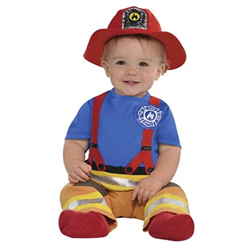 First Fireman Costume, blue, 0-6 -