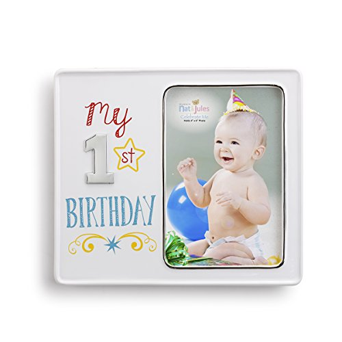 Demdaco Baby Frame, My 1st (Personalized First Birthday Gifts)