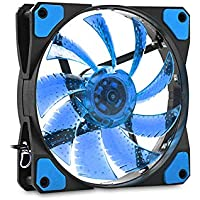 Evercool CS1230B 120*120*25mm Mavi Işıklı Kasa Fanı