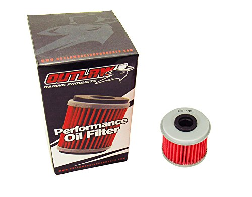 Outlaw Racing Performance Oil Filter for KN116