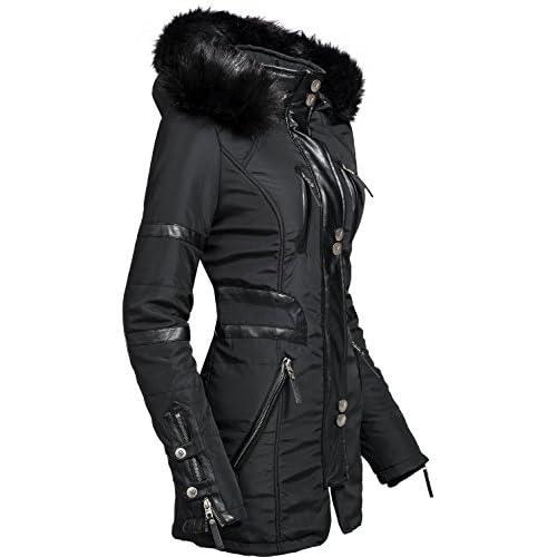 Navahoo Moon - Abrigo de invierno de piel sintética para mujer ... 756859286329