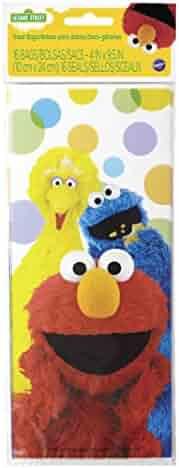 Wilton 1912-3470 16 Count Sesame Street Treat Bags, Multicolor
