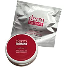 Derm Exclusive Micro Peel Resurfacing Pads. 1 Pack of 15 Pads per Pack. Plus FREE Derm Exclusive Pad Container
