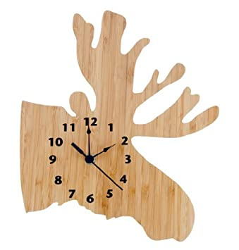 Northwoods reloj de pared, Moose
