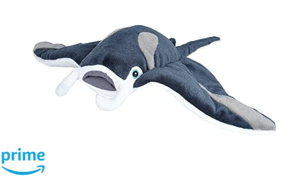 Amazon.com: Wild Republic Manta Ray Plush, Stuffed Animal, Plush Toy, Gifts for Kids, Cuddlekins 20 Inches: Toys & Games