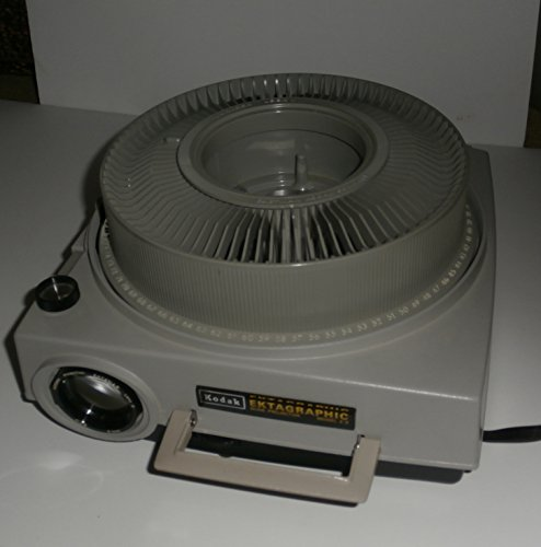 Kodak Ektagraphic Carousel 35Mm Slide Projector Model E2