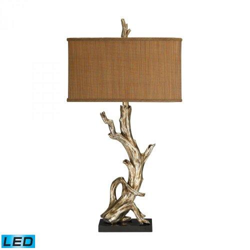 Elk Lighting 91-840-LED Driftwood LED Table Lamp in Silver Leaf
