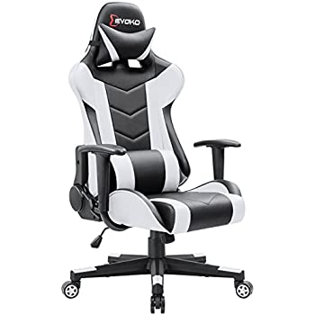 Amazon Com Devoko Ergonomic Gaming Chair Racing Style