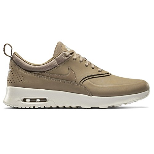 NIKE Air Max Thea PRM Womens Running Trainers 616723 Sneakers Shoes (UK 6.5 US 9 EU 40.5, Cedar Gum Yellow White 604)