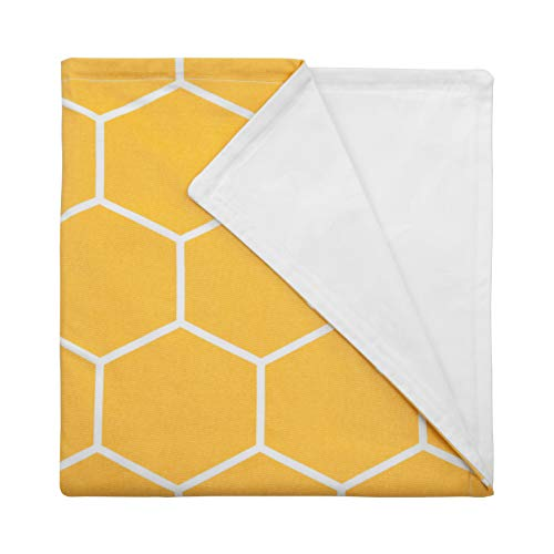 Cheap Majestic Home Goods 41 x 60 Yellow Hexo Shapes Duvet Comforter Cover for Weighted Blanket 100% Cotton (Cover Only) Black Friday & Cyber Monday 2019