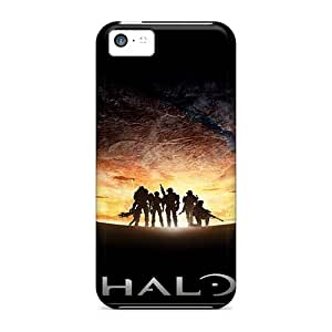 Tpu Case For Iphone 5c With Halo Reach Spartans