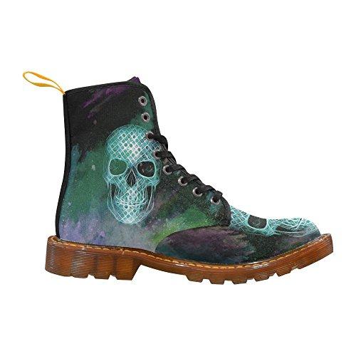 LEINTEREST Skull Martin Boots Fashion Shoes For Women 2MRkWU