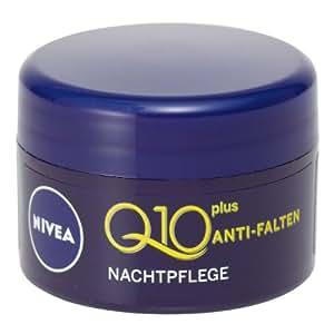 Nivea Visage Q10 Plus Anti Wrinkle Night Cream 5 ml / 0.16 oz (Travel size)