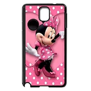 Samsung Galaxy Note 3 Cell Phone Case Black Mickey and Minnie CKR Rhinestone Cell Phone Cases