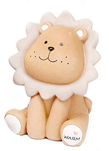 Kid's Resin Lion Animal Piggy Bank Money Box for Home Decoration,Ornament ()
