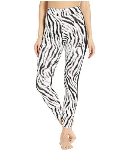 PUMA Women's Wild Pack Leggings, White/Zebra AOP, S