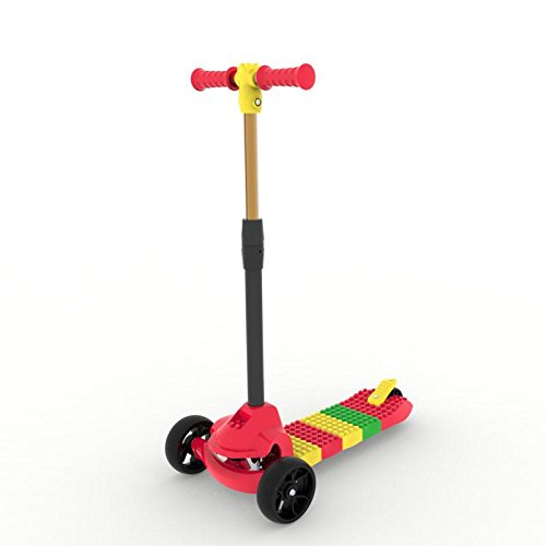 Electric Mobility Scooter Manual (BLITZART Cube Kids Hands-On Build-Yourself DIY Kick Scooter (Red))