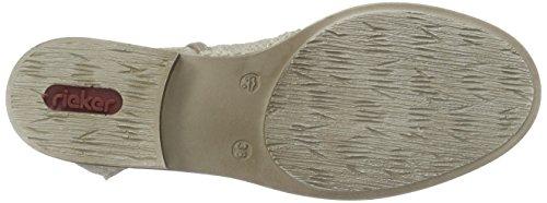 RiekerZ4165 - botas Mujer Beige - Beige (hay / 64)