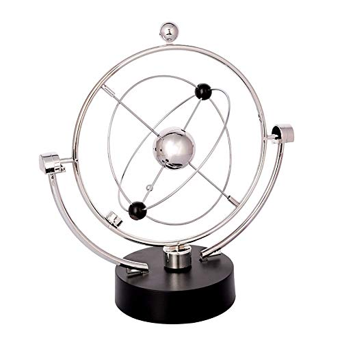 Price comparison product image Gold Happy Design Early Fun Development Educational Desk Toy Gift Newtons Cradle Steel Balance Ball Physics Science Pendulum Toy