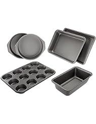 AmazonBasics 6-Piece Nonstick Bakeware Set