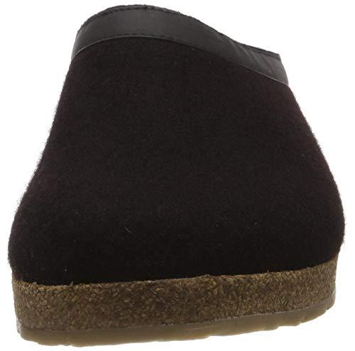 Grizzly Nero schwarz Torben Haflinger Donna 03 Pantofole y0cnaHvSwq