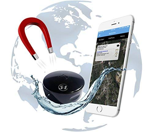 [Global Version] LandAirSea 54 Waterproof Covert Magnetic Real Time GPS Tracker for Personal Vehicle Asset and Fleet Location Tracking