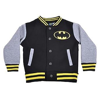 Batman Official Boys Baseball Jacket Assorted Childrens Sizes (6-7 ...