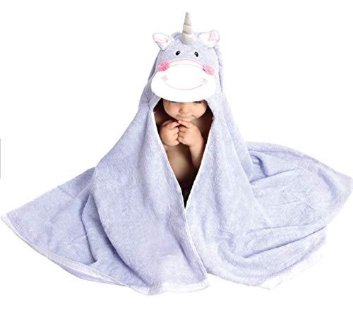 Yesoryes Hooded Towel - 100% Cotton Soft Unicorn Hooded Baby Towel, Kid Hooded Towels, Toddler Hooded Towel, Kids Bath Towel