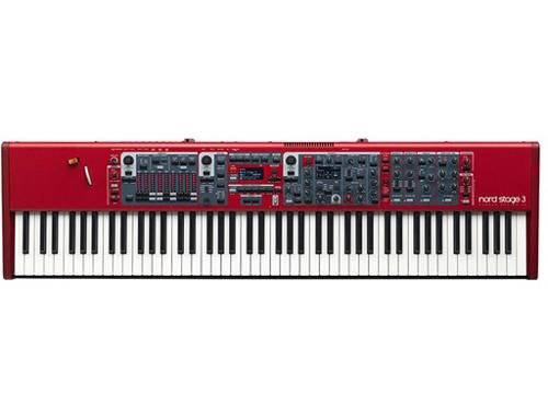 Nord Stage 3 88 88-Key Digital Stage Piano with Fully Wei...