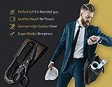 ONTAKI German Steel Beard Moustache Scissor with