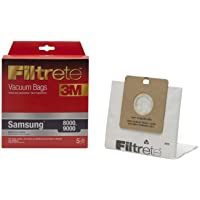 3M Filtrete Samsung/Bissell 8000, 9000 / DigiPro Micro Allergen Vacuum Bag - 5 bags