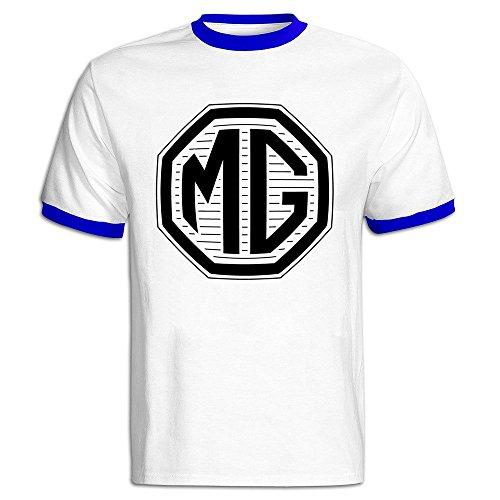 Logo Belly Dance (Men's MG Car Logo Baseball T-shirt RoyalBlue)