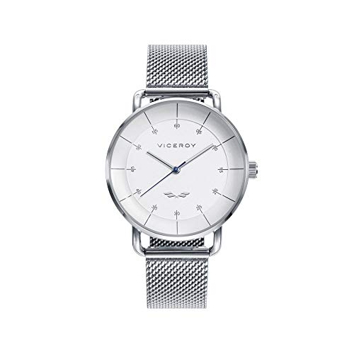 Viceroy Watch 42360-06 Antonio Banderas Woman White Steel