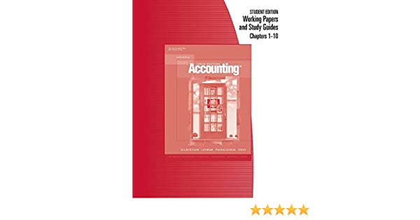 Amazon working papers chapters 1 10 for century 21 accounting amazon working papers chapters 1 10 for century 21 accounting advanced 9780538972345 claudia bienias gilbertson mark w lehman daniel passalacqua fandeluxe Choice Image