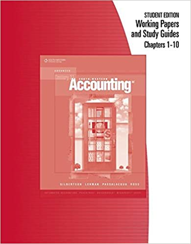 Amazon working papers chapters 1 10 for century 21 accounting working papers chapters 1 10 for century 21 accounting advanced 8th edition fandeluxe Gallery