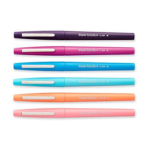 paper mate flair felt tip pens medium point 0 7mm