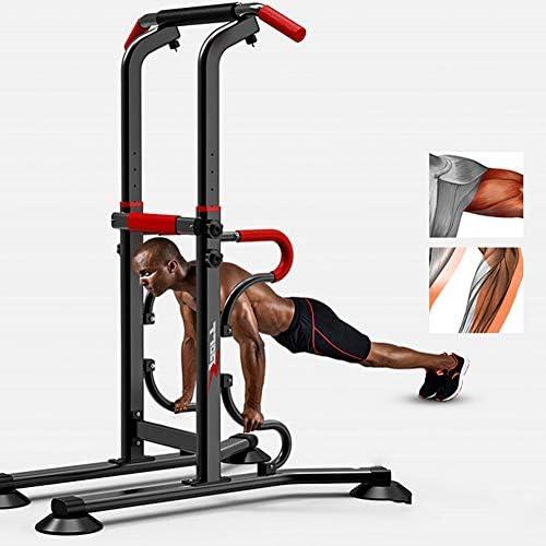 筋力トレーニング含浸ラック、筋力タワー用多機能プルロッド、家庭用ジム運動含浸ステーショントレーニングフィットネス運動器具に使用