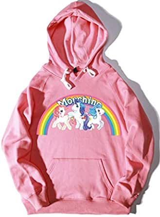 Fashion Unisex Hoodies Unicorn casual lover Pullover Sportswear Sweatshirt Hooded Tops