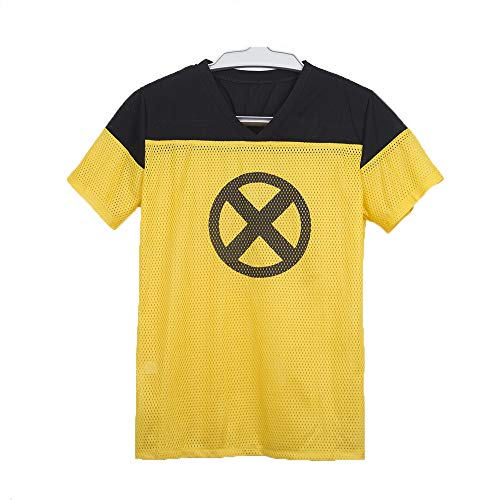 Yacn 2018 Movie Deadpool T Shirt,Deadpool Short Sleeve Cosplay, Deadpool 2 Tees Shirts Costume(XL) -