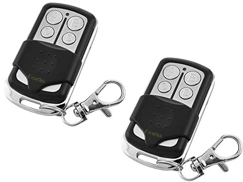ExcelTek Compatible Garage Door Remote Control with Yellow Learn Button Liftmaster Chamberlain Craftsman 891LM 893LM 950ESTD 953ESTD MyQ (2 Pack)