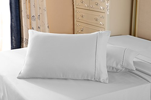 The Great American Store Basics - 600 Thread Count 2 Pc Ivor