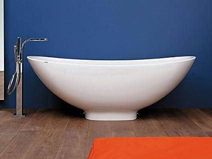 Vasca Da Bagno Flaminia : Flaminia io vasca cm in pietraluce cod io amazon casa
