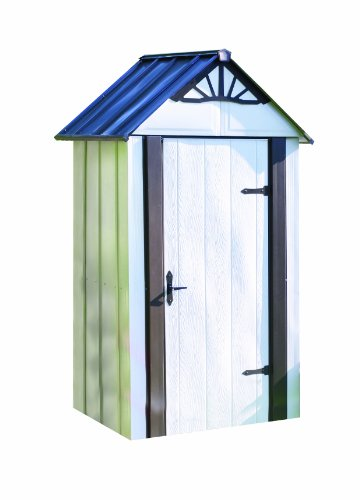 Storboss SBDSM42 Designer Series HDG Steel Storage Shed, 4 by 2-Feet by Storboss