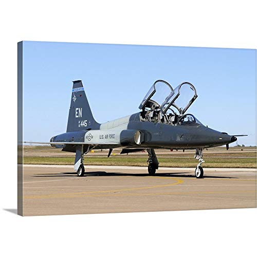 Used, Gallery-Wrapped Canvas Entitled U.S. Air Force T-38 for sale  Delivered anywhere in USA