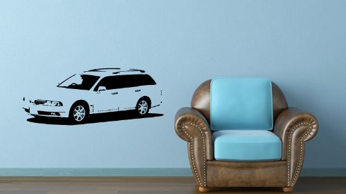 Wall Mural Vinyl Sticker Dealeship Car Mitsubishi Diamante Wagon 1997 A1381 ()