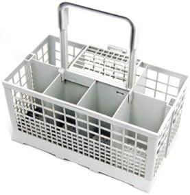 Spares4appliances - Cesto universal portacubiertos para lavavajillas, compatible con modelos Carrera, Eurotech, Homark, Lendi, Powerpoint, Servis, White, Westinghouse, Baumatic, Bosch, Neff, Siemens,