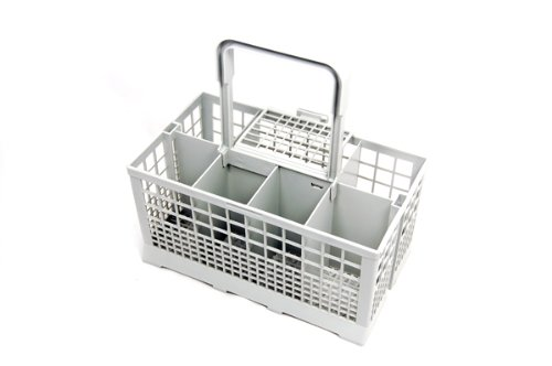 Universal Dishwasher Cutlery Basket fits Carrera Eurotech Homark Lendi Powerpoint Servis White Westinghouse Baumatic Bosch Neff Siemens Tecnik and many more (Baumatic Dishwasher)
