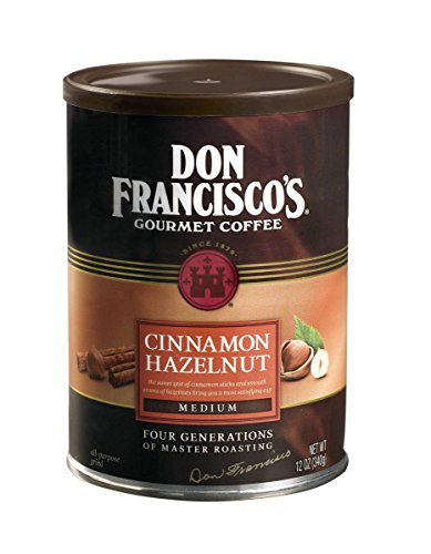 (Don Francisco's Cinnamon Hazelnut Flavored Coffee, 12-Ounce Can (3-Count))