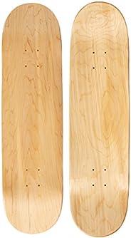 """Moose Blank 8.25"""" Skateboard Deck (Natural)(BK1825"""